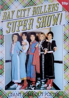 Bay City Rollers, Classic, Poster, Classical Music, Posters