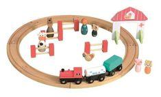 Circuit Tren si Figurine Egmont Farm Gate, Train Set, Wood Bridge, Made Of Wood, Circuit, Kids Toys, Train Tracks, Age 3, Fences