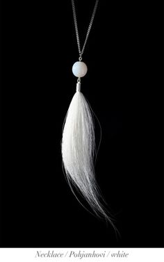 Jewelry from reindeer fur | Vaadin Design | Finland | www.vaadindesign.com