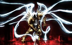 Tyrael - Archangel of Justice.  (and the Heavens shall tremble)