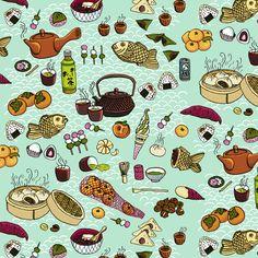 """Jessica Pollak """"Japanese Snacks"""""""