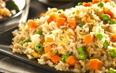 Arroz Recipe, Asian Recipes, Healthy Recipes, Ethnic Recipes, Easy Meal Prep, Easy Meals, Healthy Plate, Indonesian Food, Chinese Food