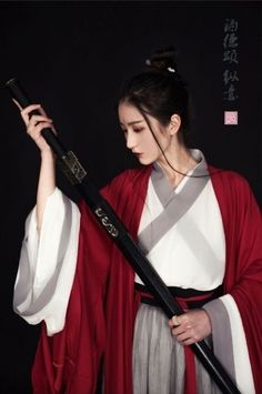 Female Samurai, Samurai Art, Samurai Warrior, Hanfu, Japanese Culture, Japanese Girl, Sword Poses, Katana Girl, Asian Photography