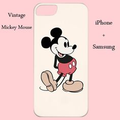 Mickey Mouse iphone case,mickey mouse samsung,vintage mickey mouse,disney iphone case,disney samsung,vintage case,cute case,s4,s4,5c,5s case on Etsy, $18.00