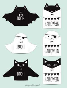 Invitaciones caseras para una Fiesta infantil de Halloween - DecoPeques