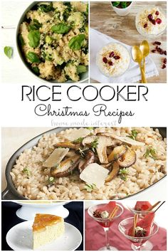 christmas recipes made in the rice cooker who knew there were so many rice cooker christmas dinner recipeschristmas side - Christmas Side Dishes Pinterest