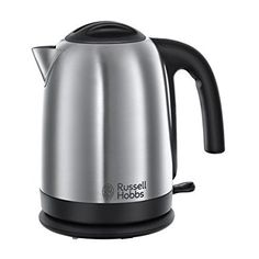 Russell Hobbs 20070 Cambridge Kettle, 1.7 L, 3000 W - Brushed Stainless Steel Silver (affiliate link)