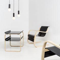 Armchair 42 By Alvar Aalto, from Artek. http://www.yliving.com/blog/artek-aaltos-creating-modern-world/