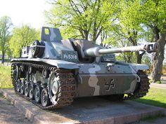 Sturmgeschütz III Ausf G assaultgun in Hamina Armored Fighting Vehicle, Ww2 Tanks, Military Equipment, German Army, Armored Vehicles, Military Vehicles, Finland, World War