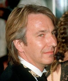 """Monday, July 12, 1993 - This photo of Alan Rickman is from the premiere of the musical version of """"Sunset Blvd."""" at the Adelphi Theatre."""