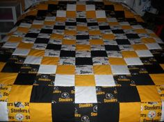 Handmade Philadelphia Eagles Baby Quilt by OzarkMountainQuilts