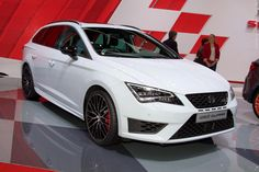 2015 Seat Leon ST Cupra (Geneva International Motor Show 2015) #Geneva_2015 #Seat #Seat_Leon #Seat_Leon_ST_Cupra