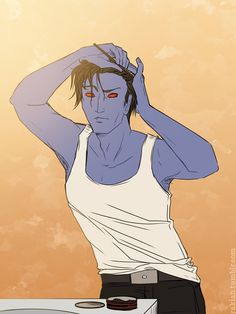 Wicked Witch of the West | Self-indulgent fanservice : Morning rituals.