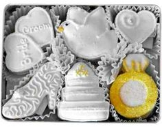 Decorated Cookies Gift | Wedding Decorated Sugar Cookies