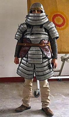 Chinese Jin Dynasty Lamelar Armor. (12th Century)
