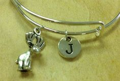 Tiny Moose Expandable bangle Baby Moose Bracelet by simplengreat