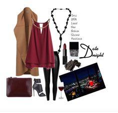 date night outfit idea  Stella Mamma Non-toxic fashion silicone necklace 2015 collection. http://www.amazon.com/dp/B00QUMXD4M