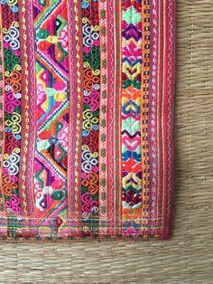 Embroidered Fabrics
