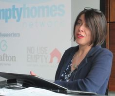 Helen Williams, Chief Executive of the Empty Homes Agency, at 2015 Empty Homes Conference