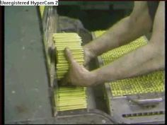 The crayon factory film from Mister Rogers! Classic.