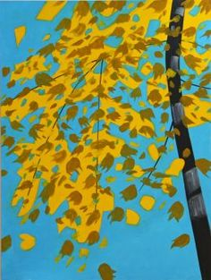 Alex Katz:  Black and Gold