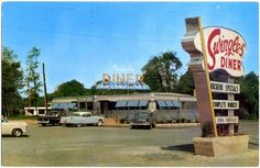 This Promotional Postcard Photo Of Swingle S Diner On Route 22 In Springfield Was Taken The Joseph Went To