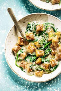 2 Ingredient Cauliflower Paleo Gnocchi - Paleo Gluten Free Eats