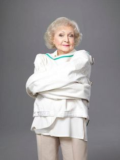 """Click """"Like"""" if you love Betty White's TV show """"Off Their Rockers"""". Senior citizens star in the practical joke TV show.  #BettyWhite #Inspirational #Actor #Celebrity #Comedian"""