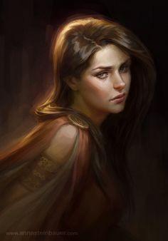deviantART Medieval Women | Anna Steinbauer Fantasy Artist | Anna Steinbauer Illustrator