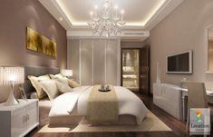 تصاميم غرف نوم للعرسان بتصميم عصري مودرن - لوكشين ديزين . نت