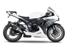 A GSX-R 750 é uma das motos Suzuki com um garfo telescópico invertido