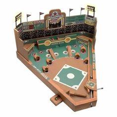 Indoor Board Games Hobbies Front Porch Baseball Under Pinball Vintage Lights US