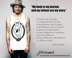 my body is my journal and my tattoos are my story.