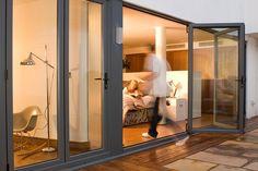 BIfold Door Aluminium by Admiral Homespace, via Flickr