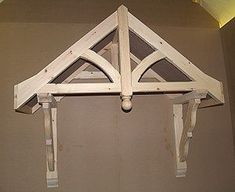 Flat Roof Porch Canopy available from Chiltern Timber Front Door Canopy, Porch Canopy, Traditional Woodworker, Door Overhang, Victorian Porch, Porch Kits, Porch Roof, Back Doors, Wood Projects