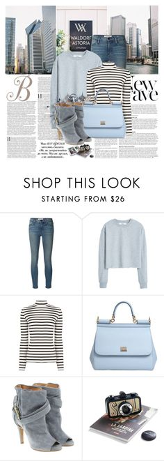 """Everything is temporary"" by winala ❤ liked on Polyvore featuring Frame Denim, MANGO, Anja, Oasis, Dolce&Gabbana and Maison Margiela"