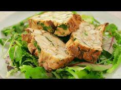 Plnka na Zelený štvrtok s ÚDENÝM TOFU - YouTube What To Cook, Tofu, Turkey, Meat, Chicken, Cooking, Youtube, Kitchen, Turkey Country