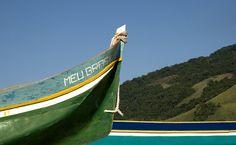 Embarcação, em Ilhabela