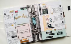 page memory planner// I am LOVING these memory planners