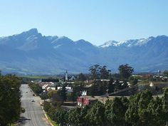Church Street in Tulbagh is now graced by the largest number of original Cape-Dutch, Edwardian and Victorian national monuments in one street in South Africa and remains a major tourist attraction of the town to the present day centuary) Cape Dutch, Tomorrow Is Another Day, Move Mountains, Present Day, Cape Town, South Africa, Country Roads, Backyard, Street