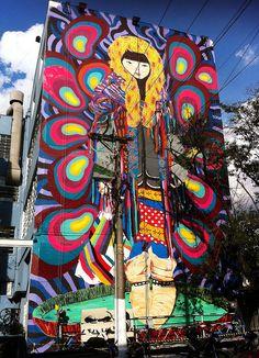 "Street art | Mural ""Spirit Immigrant"" (São Paulo, Brazil) by Ramon Martins"