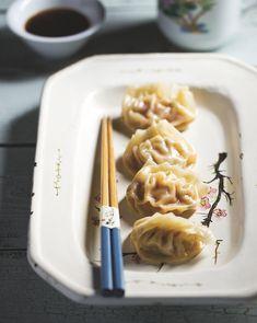 Gestoomde dumplings met garnalen - Foodies