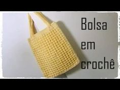 Crochê - Bolsa tipo sacola