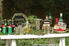 Una barra de bourbon / A bourbon bar