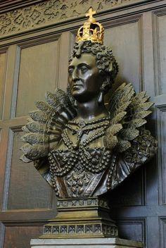 Queen Elizabeth I  Portrait Bust