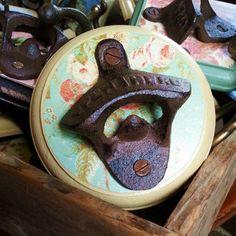 pretty, rustic bottle openers. by bee vintage redux.