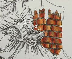 Copic Marker Europe: Tutorial - Colouring Brickwork