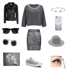 """""""Untitled #192"""" by nihada106 ❤ liked on Polyvore featuring MICHAEL Michael Kors, Posh Girl, Converse, Bling Jewelry, IRO, Ray-Ban, Luminess Air, women's clothing, women's fashion and women"""