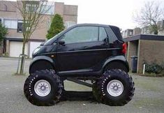 Smart Car off road edition - hehe Yes!