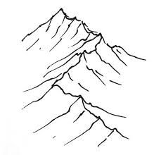 you can visit this web site for more latest photographs world map drawing simple style career, Mountain Drawing Simple, Mountain Sketch, Mountain Art, Mountain Range, Simple Line Drawings, Realistic Drawings, Easy Drawings, Spiritual Tattoo, Draw Tutorial